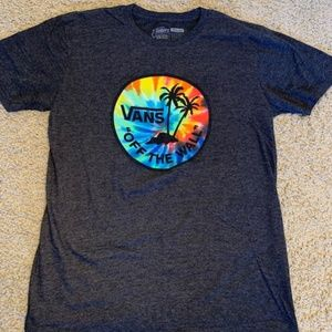 Men's Medium Vans Grey Graphic Tshirt